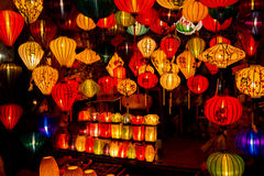 Linternas chinas en hoi-an, Vietnam Imagen de archivo libre de regalías