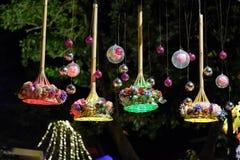 Linternas coloridas Fotografía de archivo libre de regalías