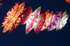 Linternas de Diwali imágenes de archivo libres de regalías
