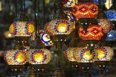 Linternas de Estambul Foto de archivo