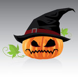 Linternas de Jack O y vector de Halloween Fotografía de archivo