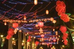 Linternas de la calle Imágenes de archivo libres de regalías