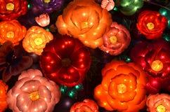 Linternas de la flor Imagen de archivo