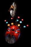 Linternas de la máscara Imagen de archivo