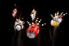 Linternas de la máscara Fotos de archivo