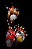 Linternas de la máscara Fotografía de archivo libre de regalías