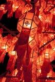 Linternas de Lanna Imagenes de archivo