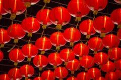 Linternas de papel chinas del Año Nuevo foto de archivo libre de regalías