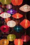 Linternas de papel de Clorful Foto de archivo