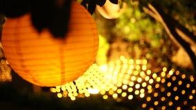 Linternas de papel redondas Decoraciones de la boda almacen de video
