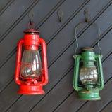 Linternas de tormenta. Fotos de archivo