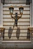 Linternas de un palacio real Imagen de archivo