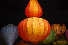 Linternas de Viernamese, Hoi Fotografía de archivo libre de regalías