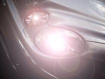 Linternas del coche Fotos de archivo