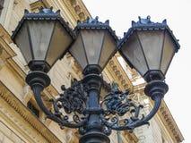 Linternas del hierro Fotos de archivo libres de regalías