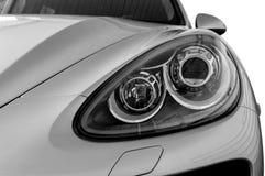 Linternas del primer del coche Foto de archivo