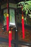 Linternas del templo imagen de archivo libre de regalías