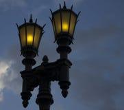 Linternas en el cielo Foto de archivo