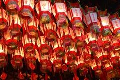 Linternas en Hong Kong Fotos de archivo libres de regalías