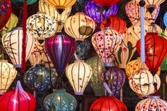 Linternas en la calle vieja Hoi An, Vietnam Imagen de archivo libre de regalías