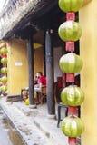 Linternas en la calle vieja Hoi An, Vietnam Fotos de archivo libres de regalías