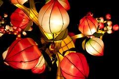 Linternas festivas foto de archivo libre de regalías