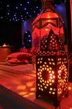 Linternas marroquíes Imágenes de archivo libres de regalías