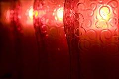 Linternas que brillan intensamente Imagen de archivo libre de regalías