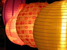 Linternas redondas Foto de archivo libre de regalías