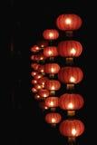 Linternas rojas de China Fotografía de archivo libre de regalías