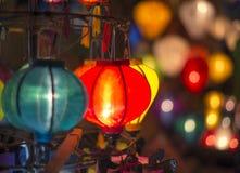 Linternas tradicionales Fotografía de archivo libre de regalías