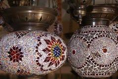 Linternas turcas Imagenes de archivo