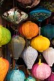 Linternas verticales Imagen de archivo
