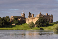 Linthithgow Palace at Sunrise royalty free stock images