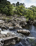 Linton Falls near Grassington Royalty Free Stock Photo