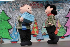 Linus and Lucy Stock Image