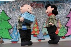 Linus und Lucy Stockbild