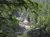 Linville понижается Северная Каролина Стоковые Изображения
