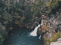 Linville Falls. Stock Image