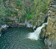 Linville Falls Basin Stock Images