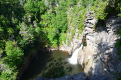 Linville Falls Royalty Free Stock Photo