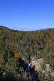 Linville Falls in North Carolina Stock Photography