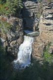 Linville Falls in North Carolina Royalty Free Stock Photo