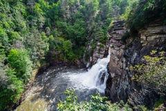 Linville Falls in North Carolina,  USA Royalty Free Stock Photography