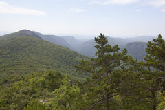 Linville Gorge Stock Photo