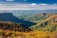 Linville gorge views Stock Image