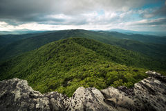 Linville Gorge Vista Stock Photo