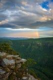 Linville regnbåge Arkivbilder