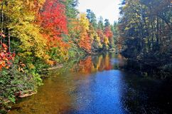 Linville River in North Carolina Royalty Free Stock Photography