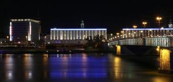 Linz Áustria Donau Foto de Stock Royalty Free